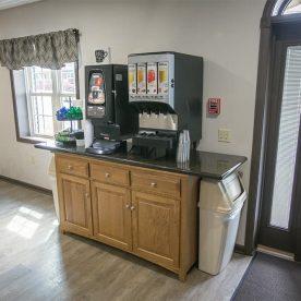 Self Serve Coffee & Tea Station